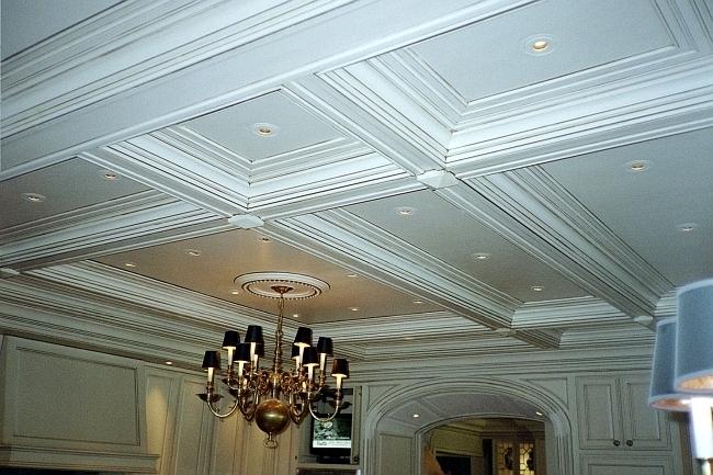 ... Coffered Ceiling Pic 9128 ...