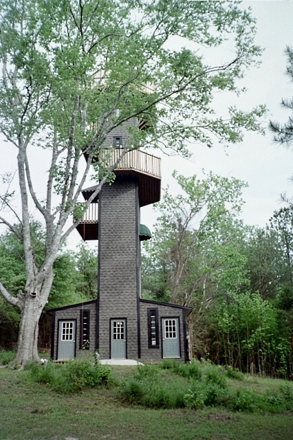 Seven Story Tower Marion County Landmark Bruce Metzler